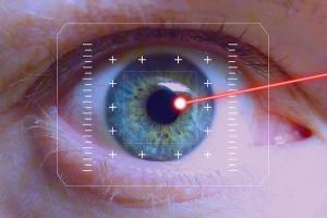 Augen lasern refraktäre Chirurgie