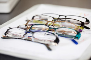 Auswahl bei der Brille als Sehhilfe